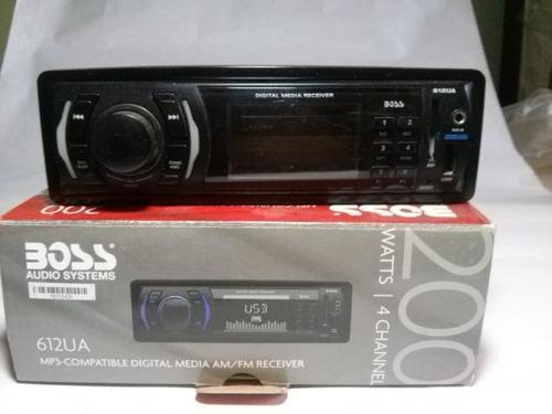 Equipo De Sonido Boss Audio Mp3, Wma, Fm/am + Cornetas 300w