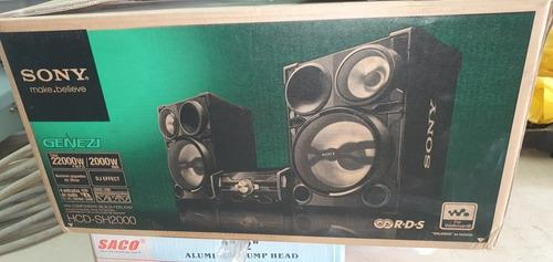 Equipo De Sonido Sony Genezi 22000 Watts