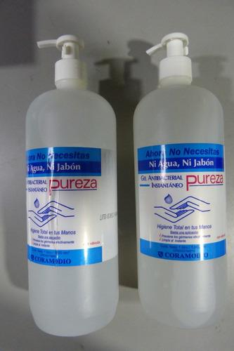 Gel Antibacterial Pureza De 1lt Por Caja (12unidade) 40green