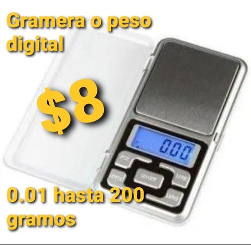 Gramera O Peso Joyero De 0.01 A 200 Gramos