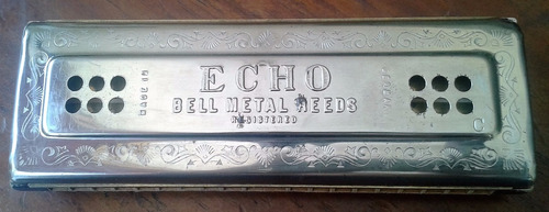 Harmonica Mhohner Echo Bell Metal Reeds Lea La Descripcion