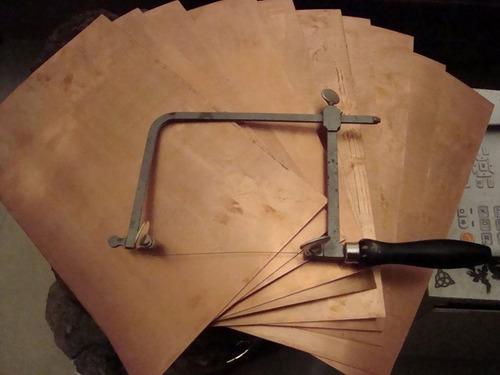Lamina Cobre Joyeria Orfebreria Bisuteria0,50 Mm,30cm X 20cm