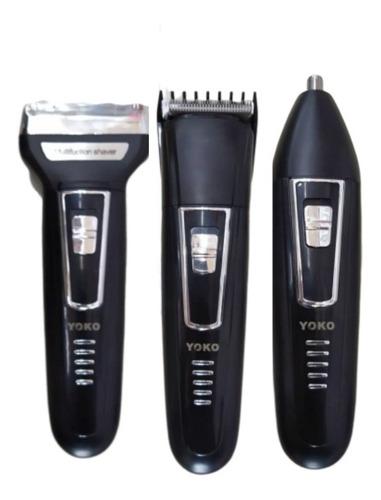 Maquina De Afeitar 3 En 1 Barba Bigote Nariz Oidos Patillas