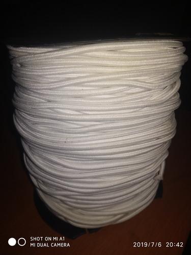 Rollo De Cordón Elástico 2mm Para Bisutería, 100 Metros