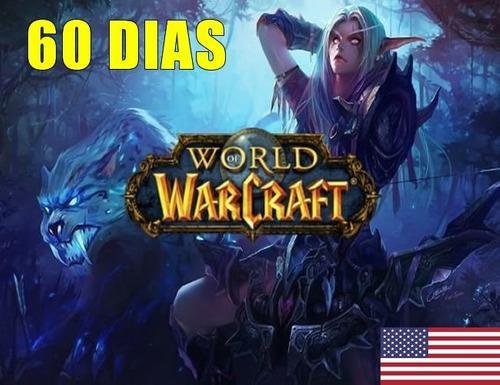 Wow World Of Warcraft 60 Dias Tiempo 2 Meses Entrega Ya