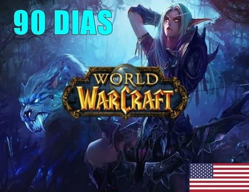 Wow World Of Warcraft 90 Dias Tiempo 3 Meses Entrega Ya