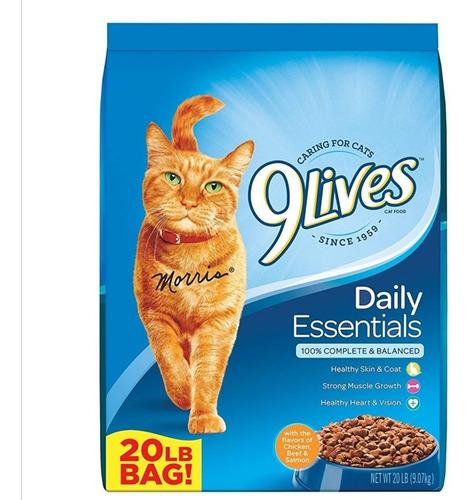 9 Lives Comida Para Gatos