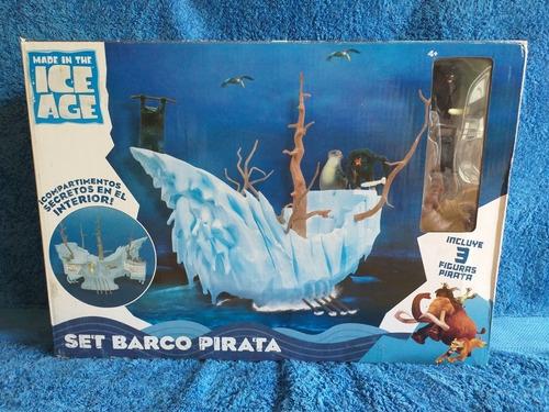 Barco Piraya De La Era Del Hielo