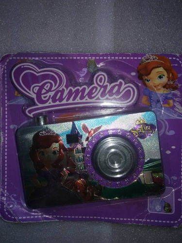 Camara Para Niños Sofia Cars Kitty Princesas