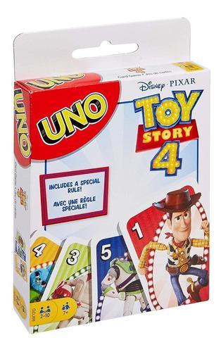 Disney Juego De Cartas Uno Toy Story 4 Card Game