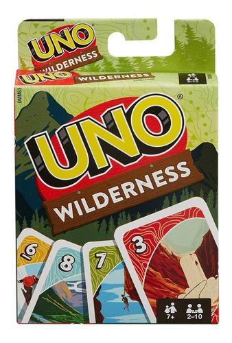Juego De Cartas Uno Wilderness 108 Cartas