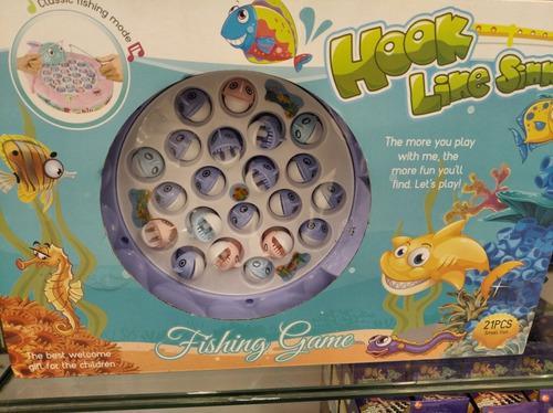 Juego De Mesa Pesca Fishing Educativo Niños Divertido
