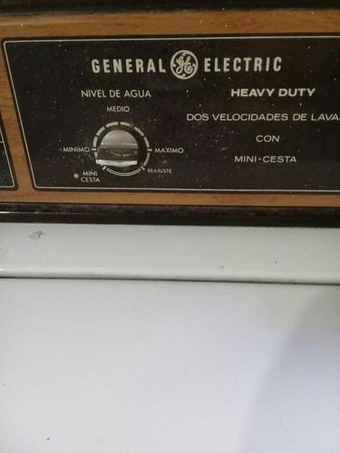Lavadora General Eléctrica. Usada