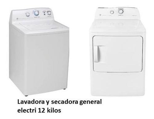 Lavadora Y Secadora General Electri 12 Kilos