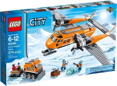 Lego City Arctic  Aviones De Suministro Ártico 374 Pzs