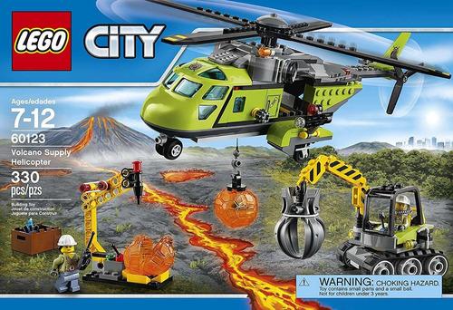 Lego City  Helicóptero De Suministros 330 Pzs(55v)