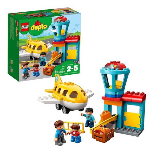Lego Duplo Aeropuerto De La Ciudad  Pzs