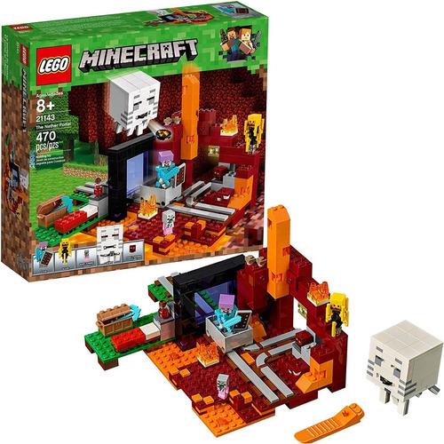 Lego Minecraft  The Nether Portal 470 Pzs