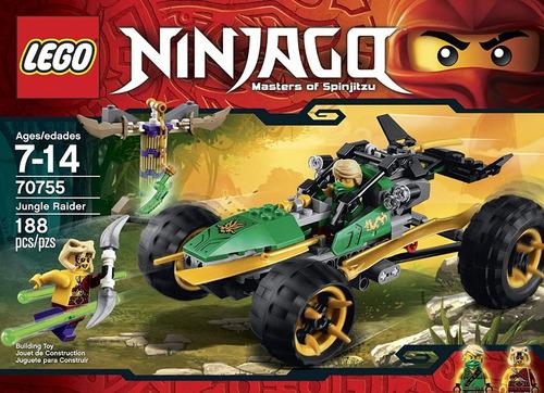 Lego Ninjago  - Buggy De La Jungla 188 Pzs(40v)