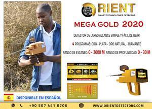 Mega Gold 2020: el mejor detector de localización de largo