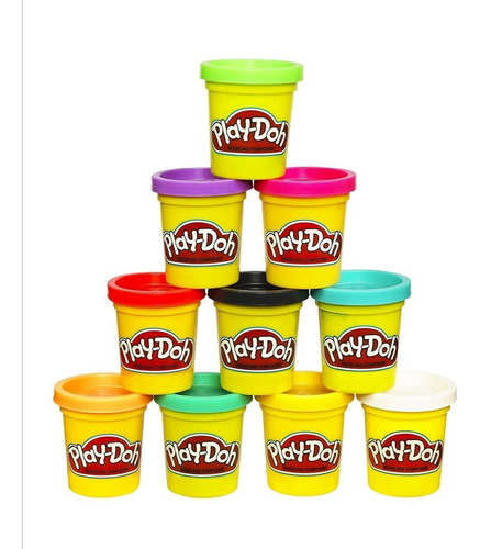 Plastilina Play Doh (3 Unidades)