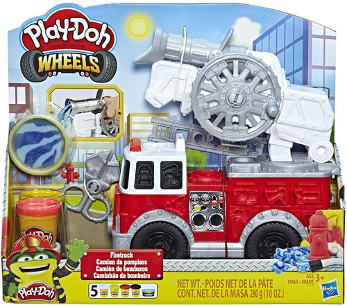 Play Doh Carro Wheels Camion De Bomberos