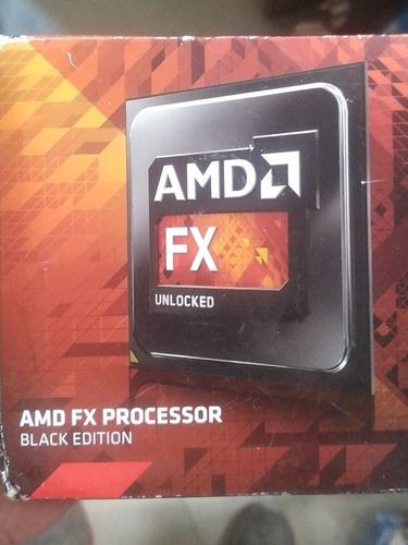 Procesador Amd Fx  Núcleos Black Edition. 3.5 Ghz.