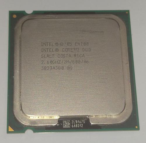 Procesador Intel Core 2 Duo E, Usado (5$)