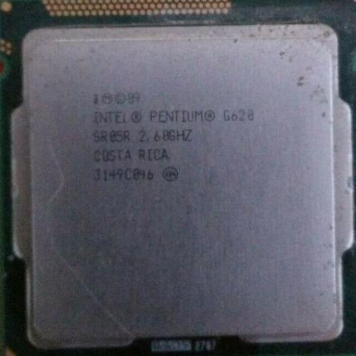 Procesador Intel Pentium G620 Caché De 3m, 2,60 Ghz