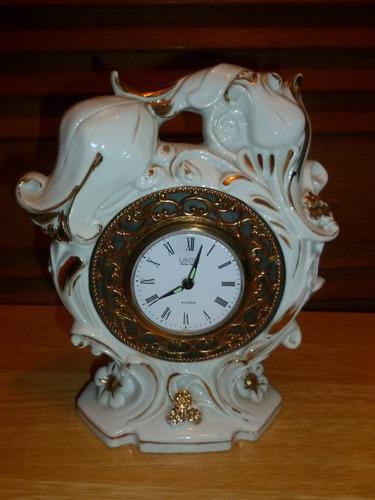 Reloj De Cuerda De Porcelana Landex Royal Craft