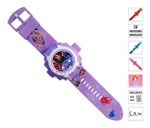 Reloj Infantil Niñas Niños 24 Proyecciones Disney