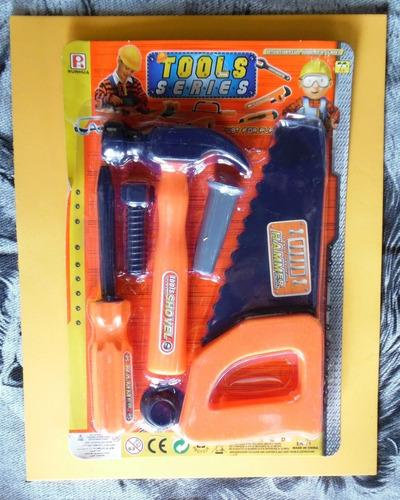 Set De Herramientas De Juguetes Para Niños Tools Series