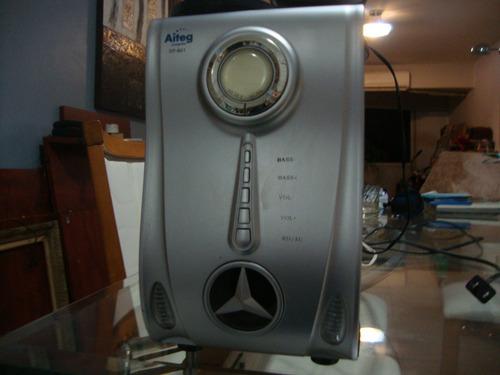 Sistema De Altavoces Multimedia Con Radio Am/fm