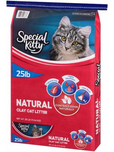 Special Kitty 25lb Arena Para Gatos Importada De Usa
