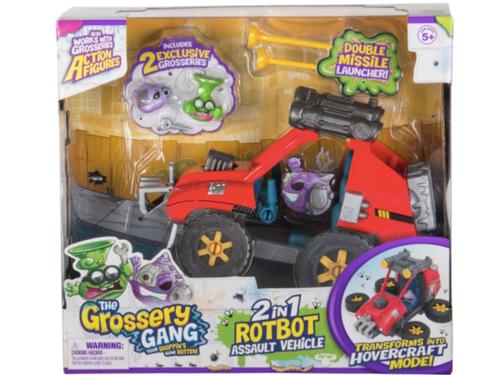 The Grossery Gang Serie 5. Times Wars. Carro Robot Assault