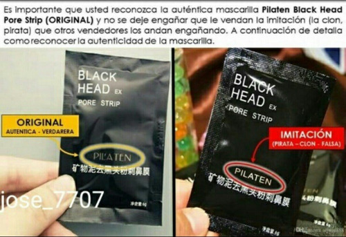 4 Mascarillas Pilaten Para Eliminar Puntos Negros 3usd
