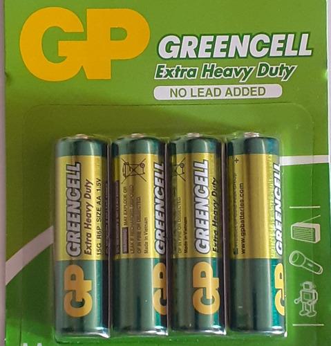 Baterias Aa Gp Pack De 4 Unidades