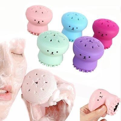 Cepillo Facial Pulpitos Limpiador, Exfoliante Y Masajeador