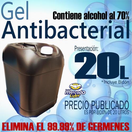 Gel Antibacterial 70% De Alcohol