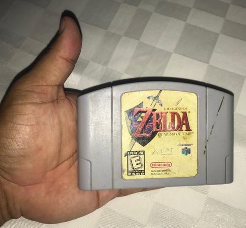 Juegos Nintendo 64 (20v) The Legend Of Zelda Ocarina Of Time