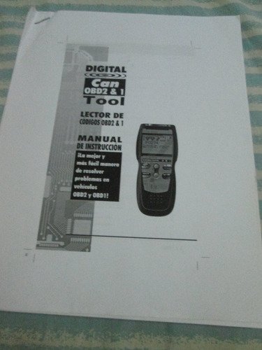Manual De Uso Para Scanner Innova (Totalmente En Español)