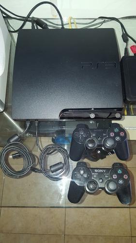 Playstation 3 Slim De 500 Gb Poco Uso Como Nuevo
