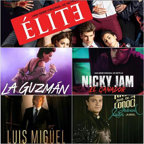 Series Elite Y La Guzman Full Hd 1080p Completas En Combos