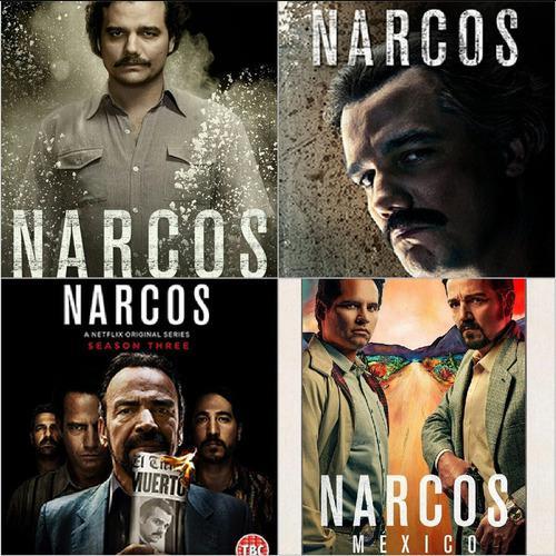 Series Narcos,el Chema,el Chapo Full Hd 1080p En Combos