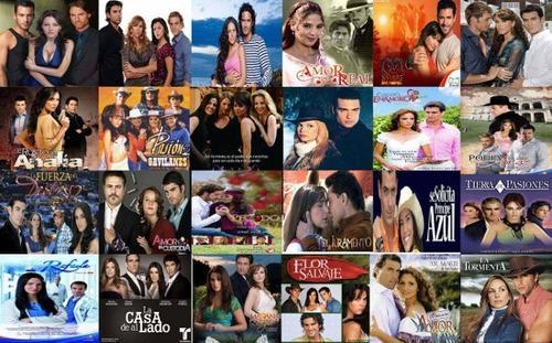 Telenovelas Y Series Mexicanas En Full Hd Combos De 5 Series