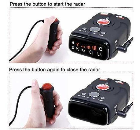 Wlzline Speed Camara Detector Voice Alert&car Gps