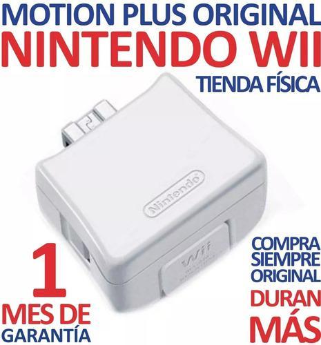2 Motion Plus Color Blanco Original Nintendo Wii (6v)