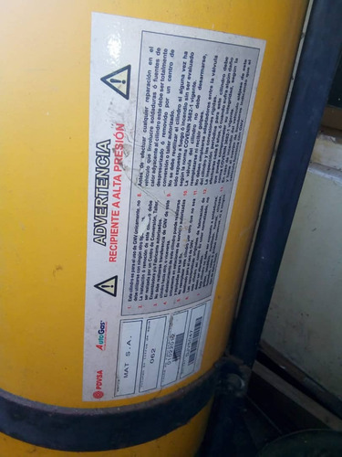 Bombona De Gas Natural Para Vehículos 66,0 Kg