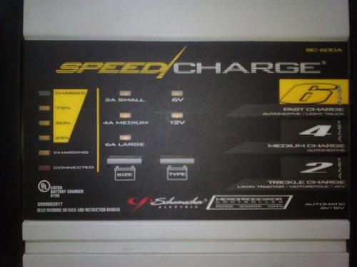 Cargador De Batería Schumacher De 6 Y 12 Volt.