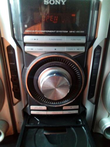 Equipo De Sonido Sony Hcd Ec55 Original Operativo65vrd